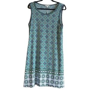 NWT Max Studio Sleeveless Print Dress L